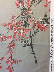 REMNANT OffCut Romo Floriane Fabric Curtain Blind Cushion Craft 135x167cm