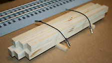 Sawmill, Large Timber, Lumber Load for Lionel & all Layouts, Real Wood Boards