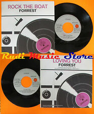 "LP 45 7"" FORREST Rock the boat Loving you 1982 italy ARIOLA ARL 37101 cd mc dvd"