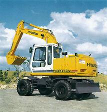 Bauplan Mobilbagger Hyundai Robex 130w Modellbauplan