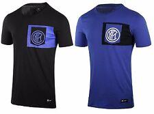 T-Shirt Maglia Nike F.C. Inter Crest Tee Calcio Tempo Libero 2016/17