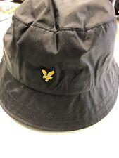 Lyle & Scott bucket Hat. Blk O/s