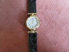Ladies Quartz Steltman Gold Tone Watch