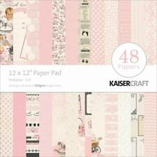 """Kaisercraft Baby Girl Peek-a-boo Paper Pad 12x12"""" 48 Pages - Nini's Things"""