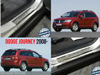 Stainless Steel Door Sill Entry Guard Covers Trim fit only Dodge Journey 2008-