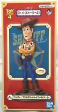 """Toy Story 4 : Woody 12"""" statue figure Ichiban Kuji   Bandai 2019"""