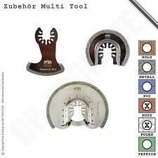 Zubehör Set Segment 3 Teile Diamant für Fugen Multifunktionswerkzeug Multi Tool