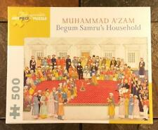 Begum Samru's Household by Muhammad A'zam 500 Piece Pomegranate Art Puzzle - NEW