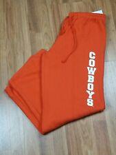 Oklahoma State Cowboys Drawstring Sweatpants Orange Size Small