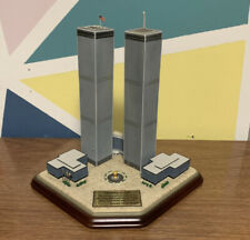 New ListingDanbury Mint - Twin Towers 2001 Commemorative World Trade Center 9 / 11