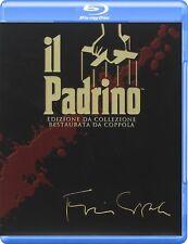 Blu Ray IL PADRINO - Trilogia - (Box 4 Dischi) Slipcase ....NUOVO