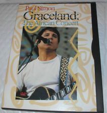 Paul Simon - Graceland - The African Concert (DVD, 1999) OOP Very Good Condition