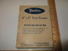 "Vintage Yankee 4"" by 5"" Print Film Cutter in Box, Windman Bros, L.A. 24 CALIF"