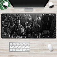 XXL Large Size Gaming Mouse Pad New York City Usa Computer PC Mousepad Desk Mat