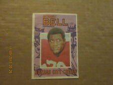 NFL Kansas City Chiefs Bobby Bell Topps 5x7 Football Photo Insert