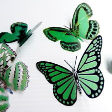 100 Pack Butterflies - Forest Green- 5 to 6 cm - Cakes, Weddings, Crafts, Cards