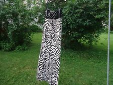 Women's Dress Very Sexy Evening Cocktail Long Stretchy Soft & Metallic One Size