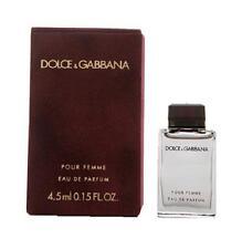 DOLCE & GABANNA POUR FEMME red .15 oz EDP Women's Mini Perfume Splash NEW NIB