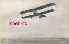 Originale Sanke Karte /   Flugzeug, .Rumpler Doppeldecker