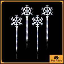Large 70cm Christmas Snowflake Decoration Xmas Outdoor Bright LED Lights Garden