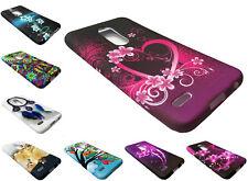 Tempered Glass + TPU Phone Case For LG K30 / Premier Pro L413DL / L413 / LM414DL