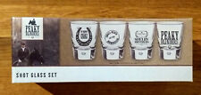 More details for peaky blinders shot glasses 4 pack glass set – brand new in box