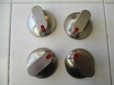 Samsung Range Oven Knobs Stainless Steel -Set Of 4-Dg94-00207B