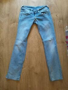 Pepe jeans venus hellblau 28 32 (36) stretch regular fit straight leg