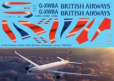 1/144 Airbus A350 1000  British Airways livery  Decals TB Decal TBD362