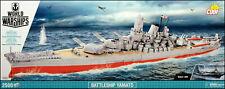 COBI Yamato (3083) - 2500 elem. - WWII Japanese battleship 1:300