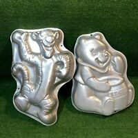Vintage Disney 1995 Winnie the Pooh & Tigger Wilton Aluminum Cake Pan