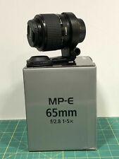 Canon MP-E 65mm F2.8 1-5X - Obiettivo Macro