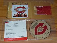 FOOL'S GARDEN - CLOSER / 1 TRACK MAXI-CD 2002 & INFO-FACTS