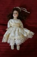 10 Inch Jointed Porcelain Doll