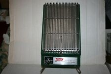 Vintage Coleman Propane Catalytic Heater 2000-4000 BTU Model 5445 Camping Green