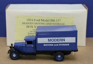 Santana Miniatures 1934 Ford BB-157 Modern Moving & Storage 1:43 MIB 400 Iss