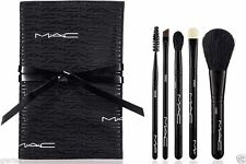 New MAC Look in a Box 5pc Advanced Brush Make Up Cosmetic Set ~ VALENTINES DAY