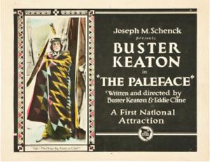"Super8 ""PALEFACE"" Buster Keaton  150 sw/Ton - Top Zustand - UNIKAT! 1922"