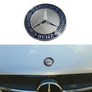 Bonnet/Hood Badge 57mm Flat Star Emblem For Mercedes Benz C E SL Class