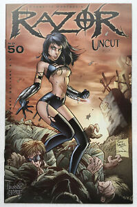 Razor: Uncut #50 VF/NM 9.0 Wilson, Hartsoe, Kathryn Jacobs Low Print Later Issue