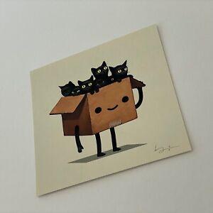 BOXO I 1 KITTIES Mike Mitchell Art Print Signed Numbered MONDO Artist Proof AP