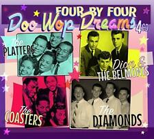 Platters Dion And The Belmonts Coasters The Diamonds - Doo Wop Dreams (NEW 4CD)