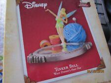 TINKER BELL Disney PETER PAN windup movement HALLMARK 2004 Ornament NIB