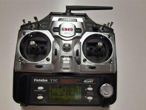 Futaba T7C RC Sender Fernsteuerung 2,4 GHz - Top Zustand