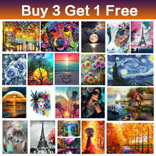 DIY 5D Diamond Painting Embroidery Art Craft Kit for Adults kids Home Wall Decor