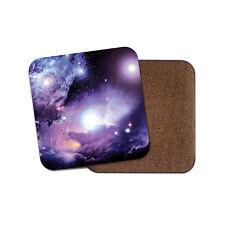 Awesome Purple Nebula Coaster - Space Sci-Fi Galaxy Solar System Fun Gift #13246
