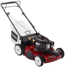 "Gas Lawn Mower Self Propelled Grass Cutter Mulcher Variable Speed 22"" Steel Deck"