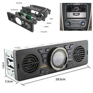 12V Car MP3 Radio Audio Player 2 Speaker Stereo FM Bluetooth2.1 USB/TF Card Port