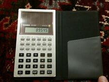 Casio Fx-900 Scientific Calculator 1980 Japan With Manual and Case Tested Books