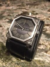 Black Dice Mens Watch - Unique Design